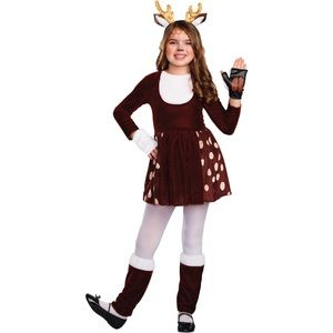 Other - 3/$20 Doe a Deer Girls Halloween Costume 3 Piece